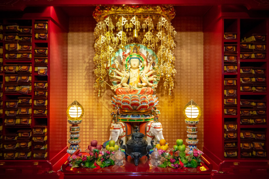 Another Shrine at Buddha Tooth Relic Temple