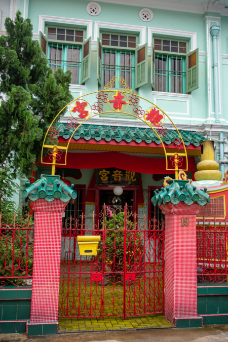 Guanyin Shrine in Little India