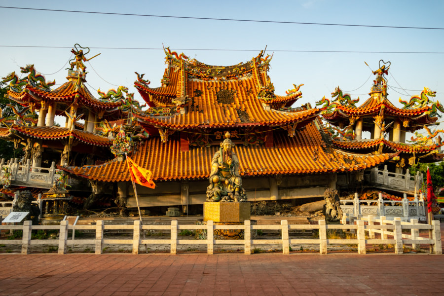 The Collapsed Wuchang Temple