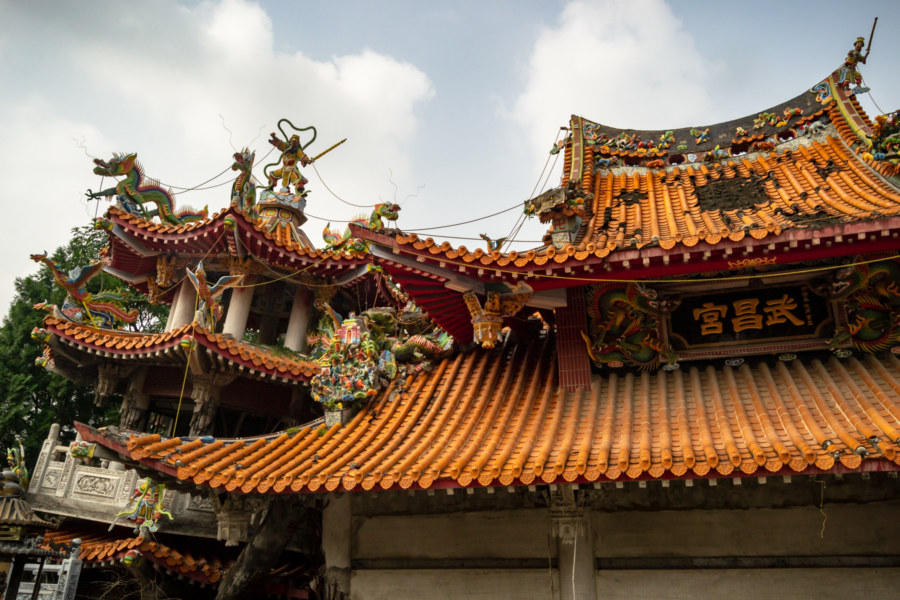 The Ruins of Wuchang Temple