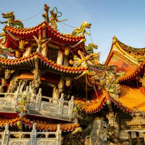 Left Side of Wuchang Temple