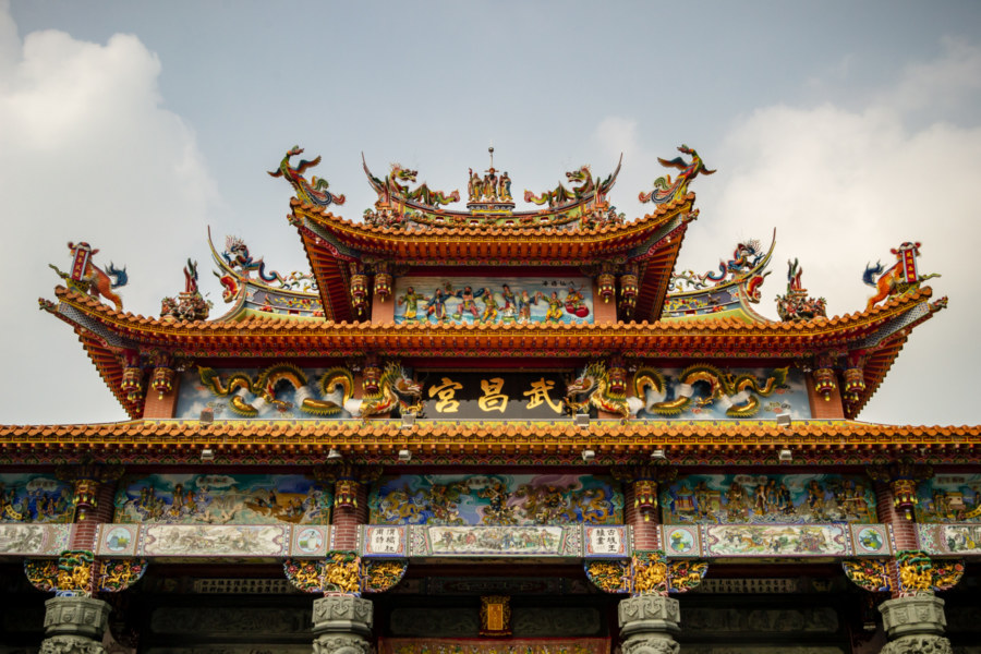 Wuchang Temple Reborn