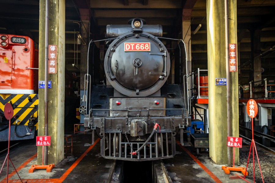 Taiwan Railways Administration DT650 Steam Locomotive