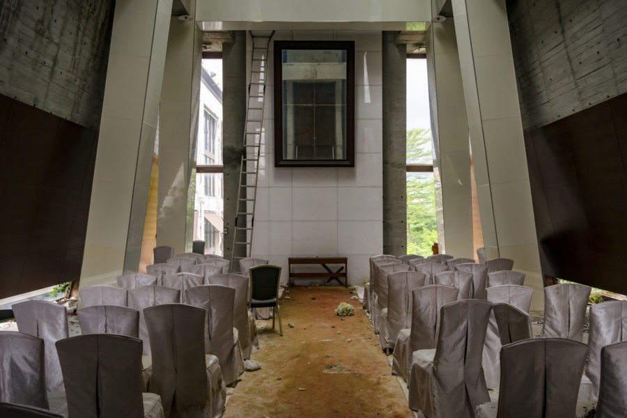 Inside the Grace Hill Wedding Chapel