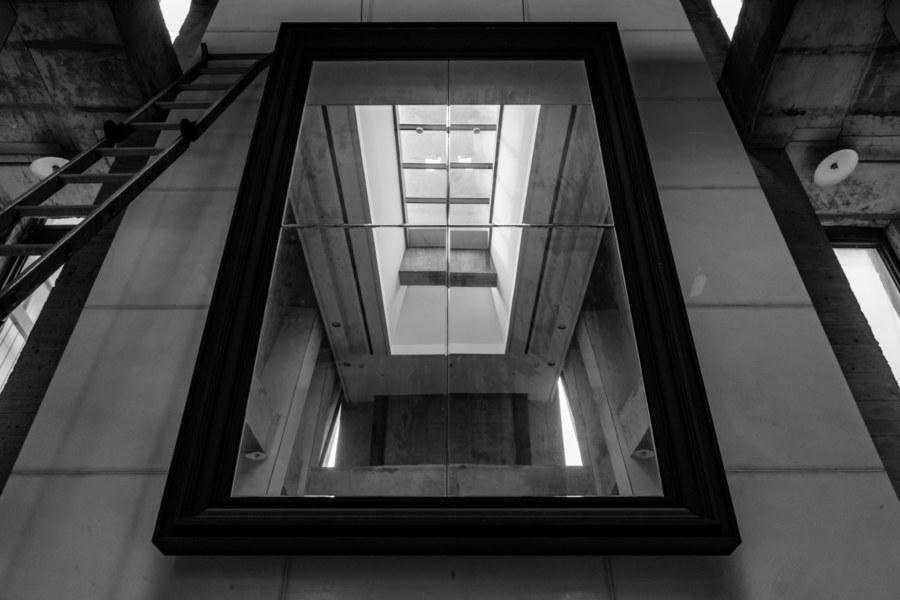 Modernist Wedding Reflection