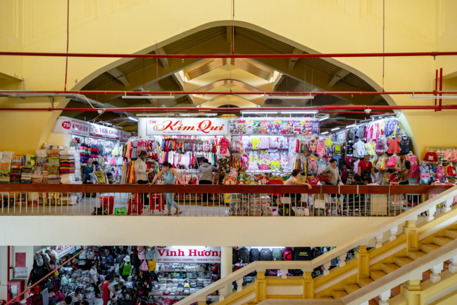 Inside the Refurbished Binh Tay Market