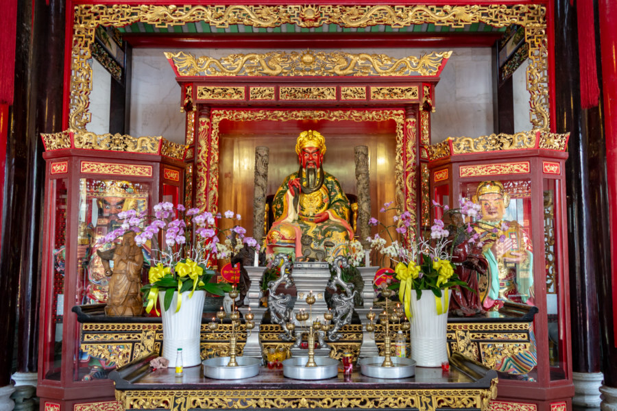 Guan Gong at Nghia An Hoi Quan Pagoda