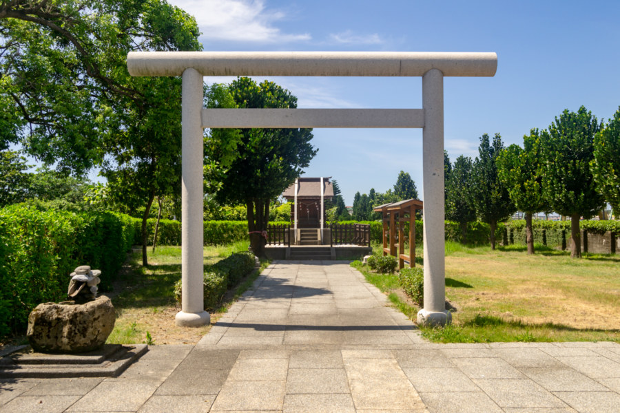 Entrance to a Former Shinto Shrine at the Port of Hualien