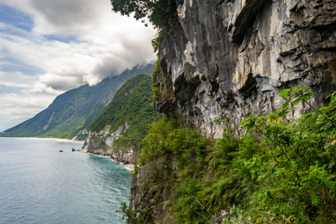 Looking South Along the Qingshui Cliffs