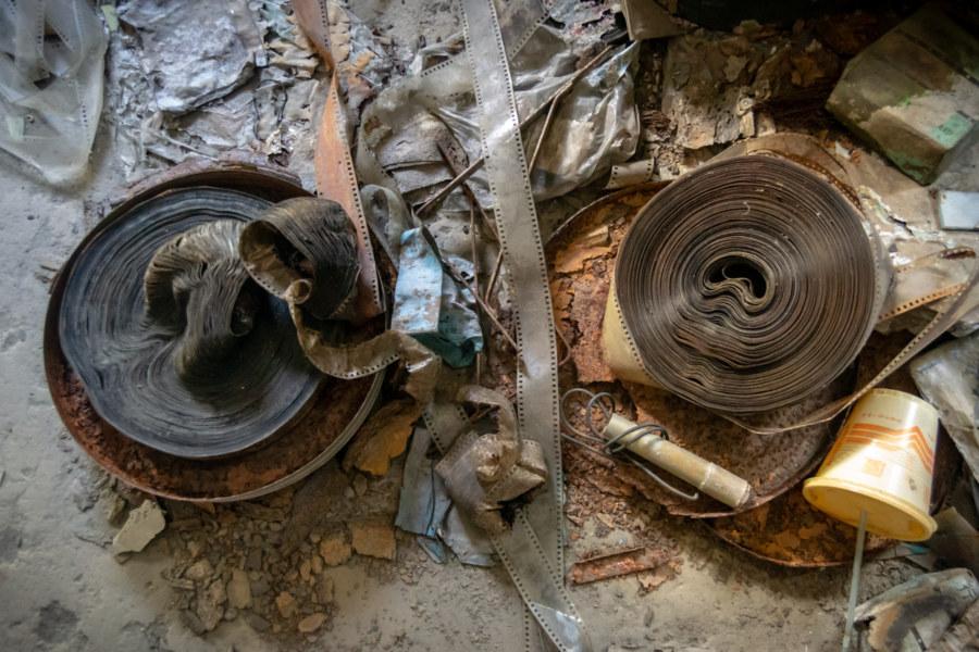Ruined Film Reels in Guanshan
