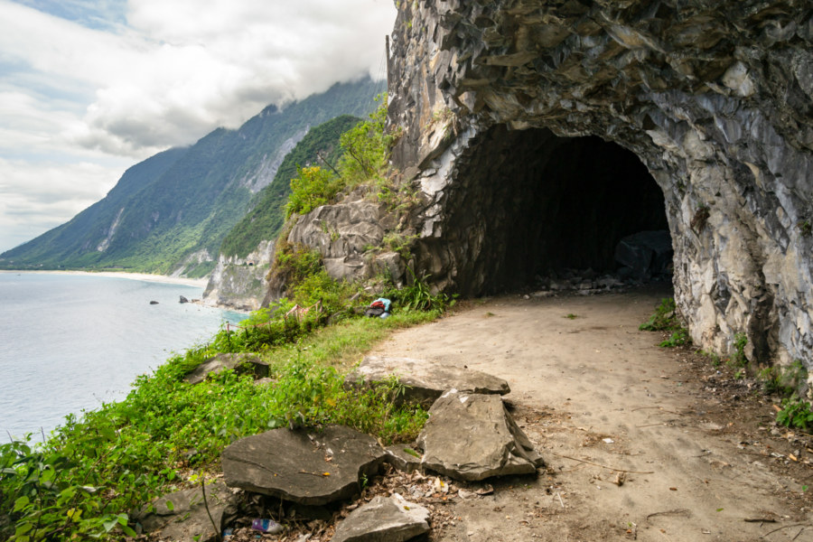 The Old Suhua Highway at Qinghsui Cliffs