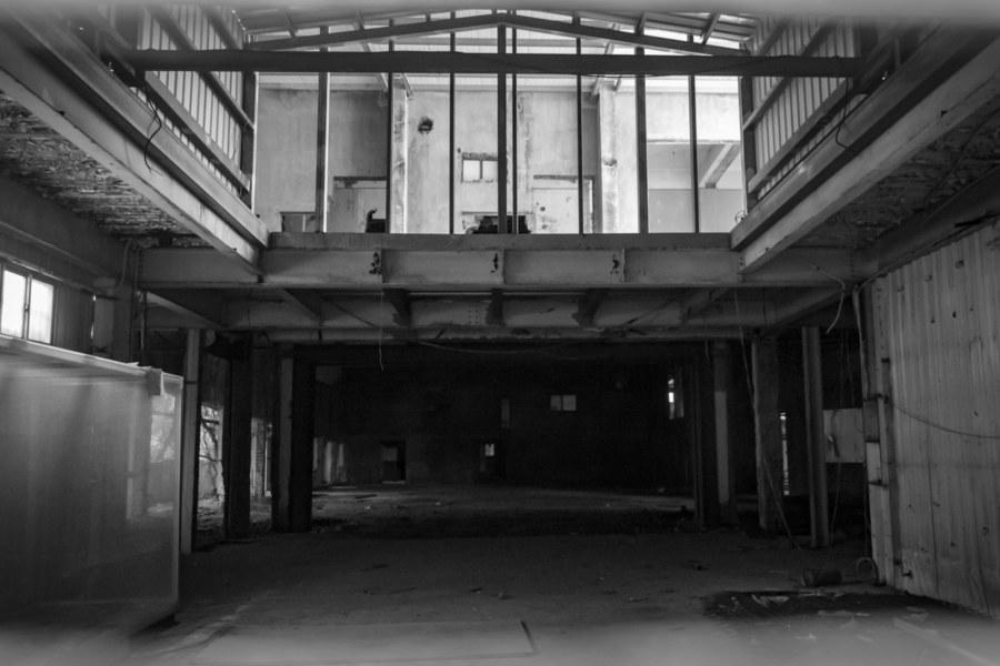 A Peek Inside the Former Guosheng Theater