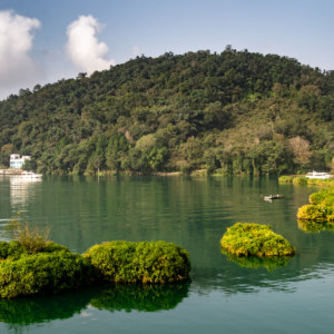 Floating Islands on Sun Moon Lake
