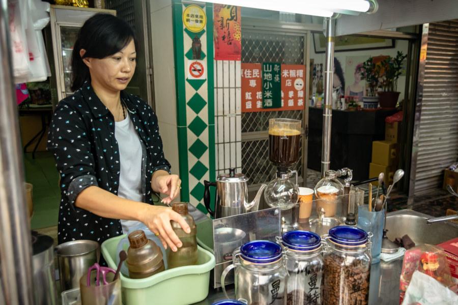 Local Nantou Coffee Vendor