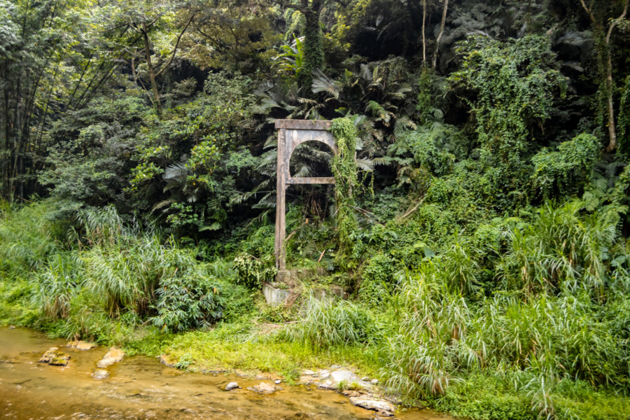 The Remains of an Old Bridge in Nantou