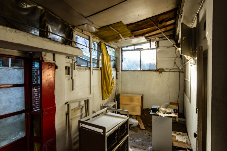 Stepping Inside an Abandoned Home