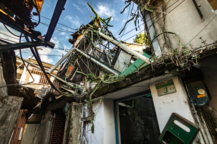 Scouring the Ruins of a Vanished Community in Xinyi District