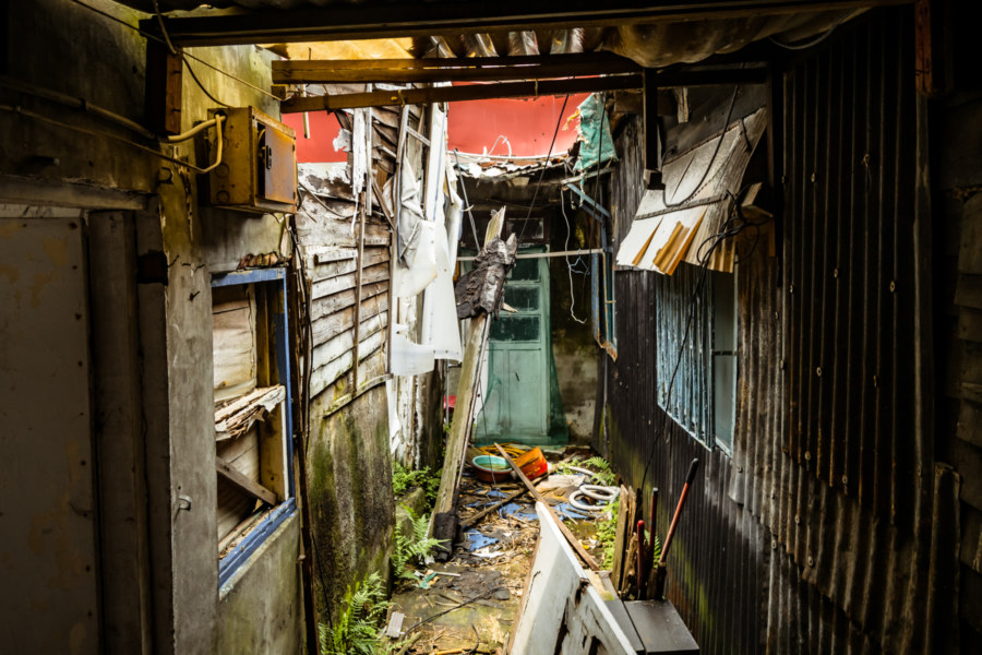 Passages Through an Abandoned Village in Xinyi District