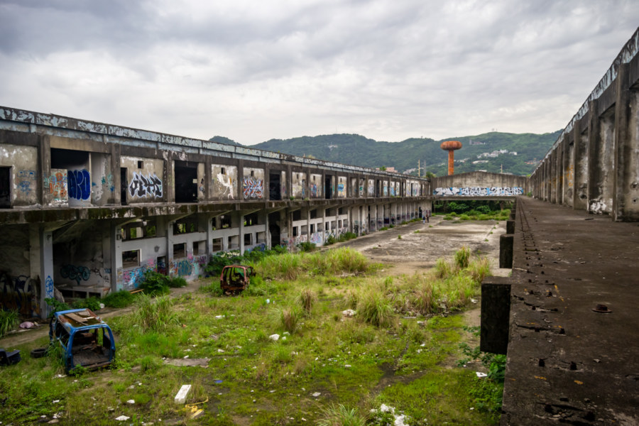 A Long View of the Shulin Factory