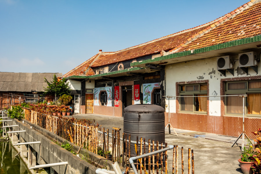 The Old House at Changhua Shell Temple