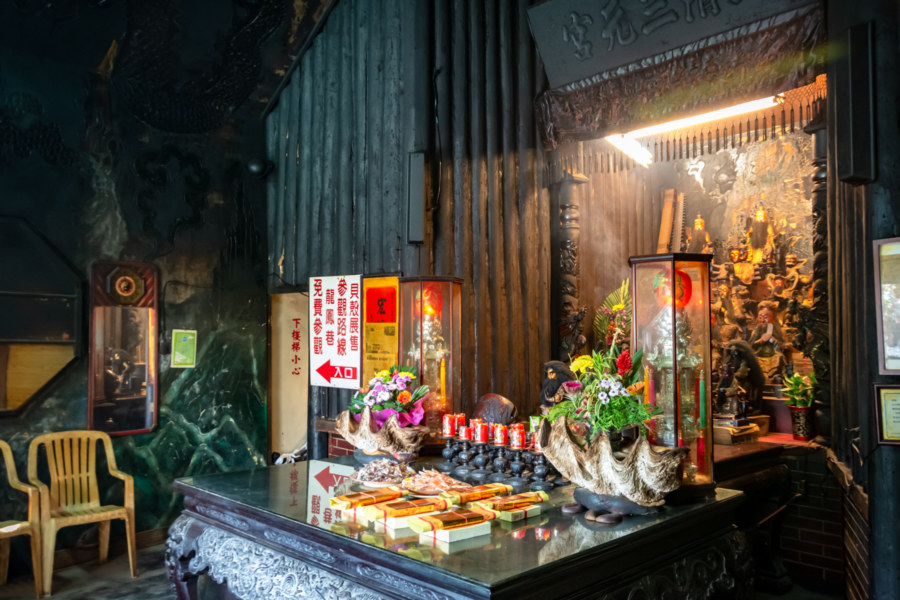 Main Altar at the Changhua Shell Temple