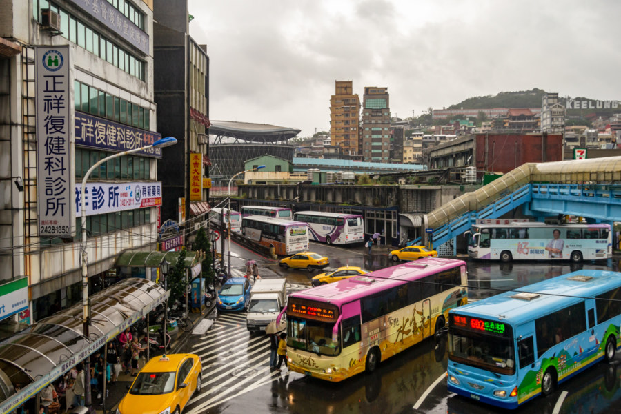 Keelung Station Area