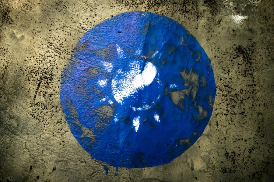 Faded Blue Sun