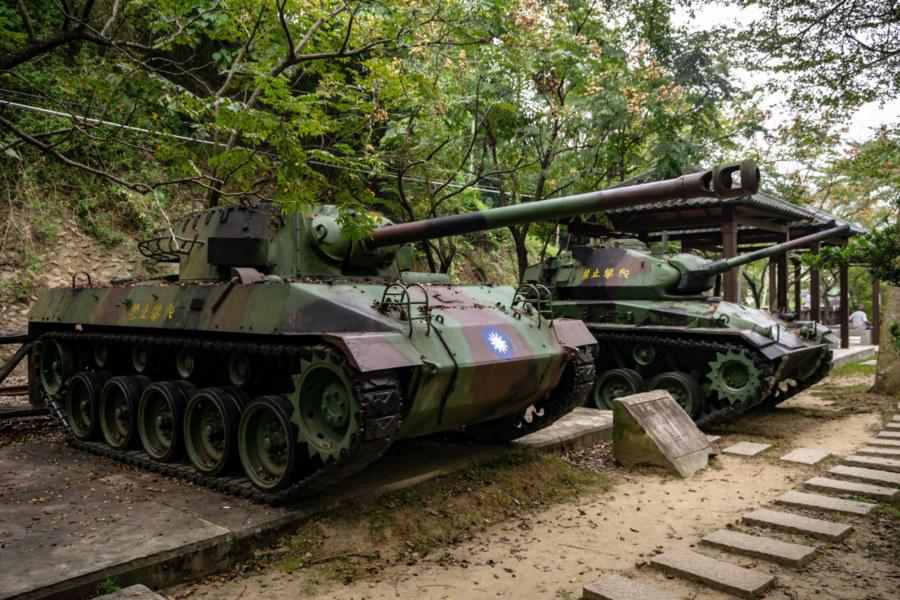 M18 and M24 Tanks in Longquan