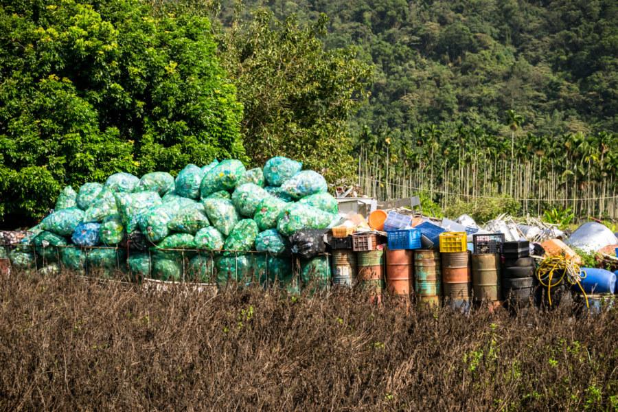 Back Country Trash in Nantou