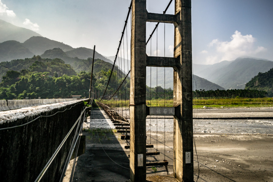 The Abandoned Qingyun Suspension Bridge