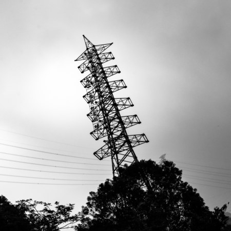 The Leaning Power Pole of Mingjian