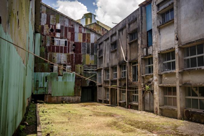 Hualien Sugar Factory Inner Courtyard