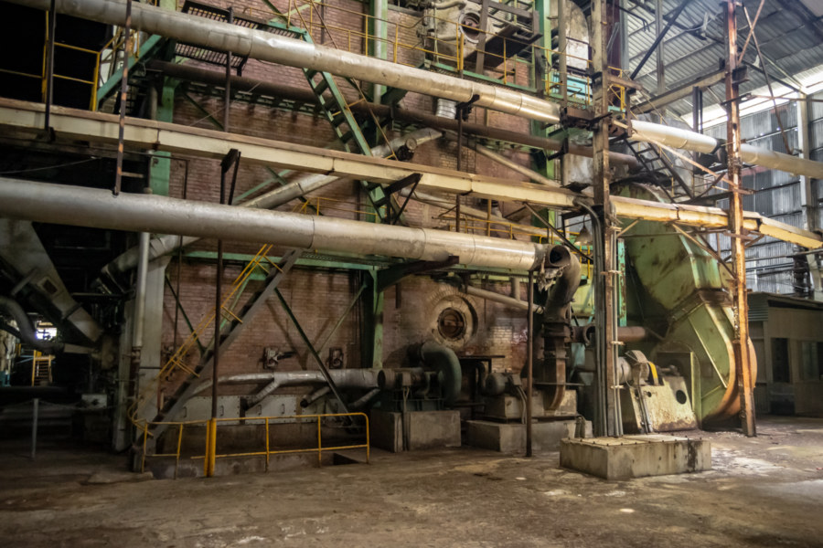 A Glimpse Inside the Hualien Sugar Factory