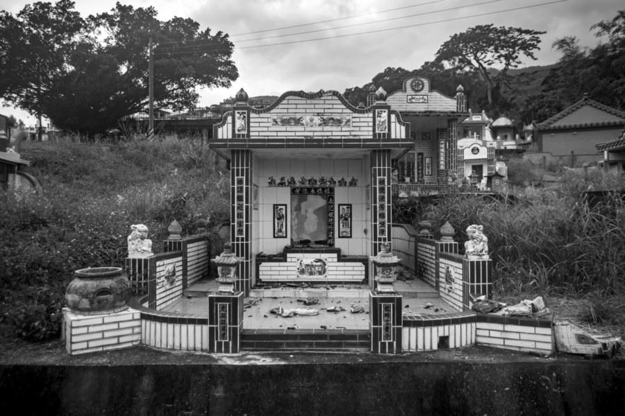 A Broken Tomb Outside Yuli