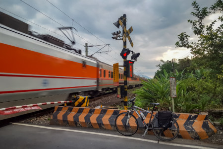 Last Railway Crossing Outside Yuli