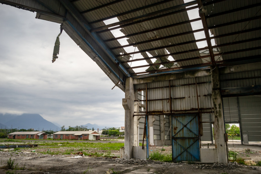Empty Husks of a Hualien Warehouse