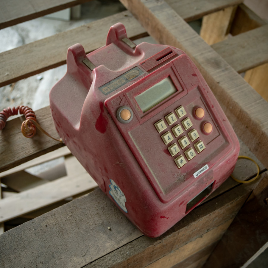 Abandoned Red Telephone