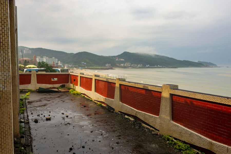 Rooftop View From an Abandoned Signal Station in Wanli