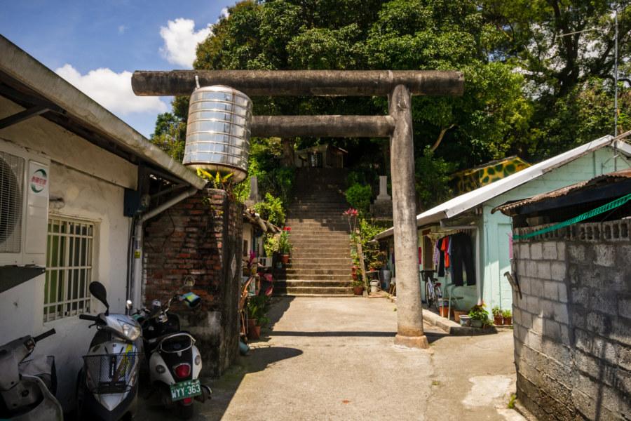 The Approach to Yuli Shinto Shrine