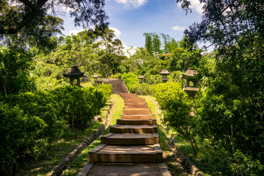 Yuli Shinto Shrine Visiting Path