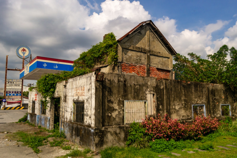 An Old Tobacco Barn in Fuli Township