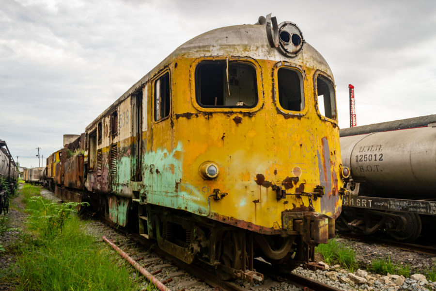 Another Yellow Engine in Bang Sue
