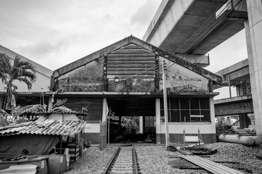 Maintenance Depot at Bang Sue Railway Cemetery