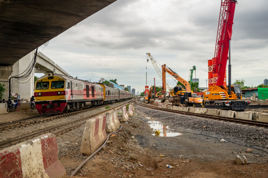 Bang Sue Grand Station Construction Site 1