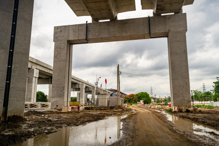 Bang Sue Grand Station Construction Site 3