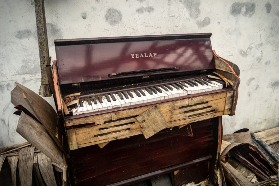 Abandoned Yealap Piano