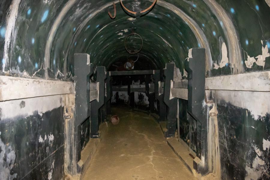 Inside Beigou Palace Museum Vault 1