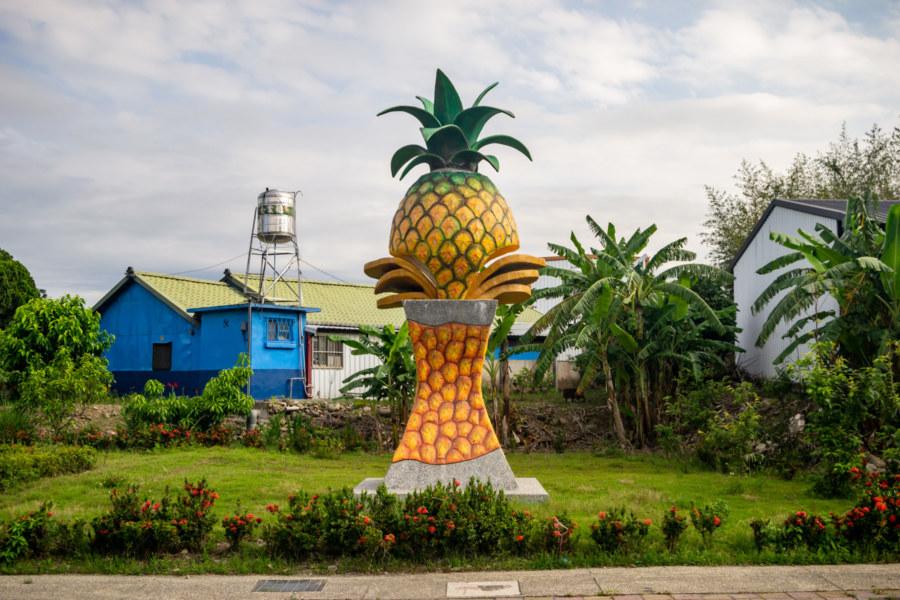 Luye Pineapple Statue