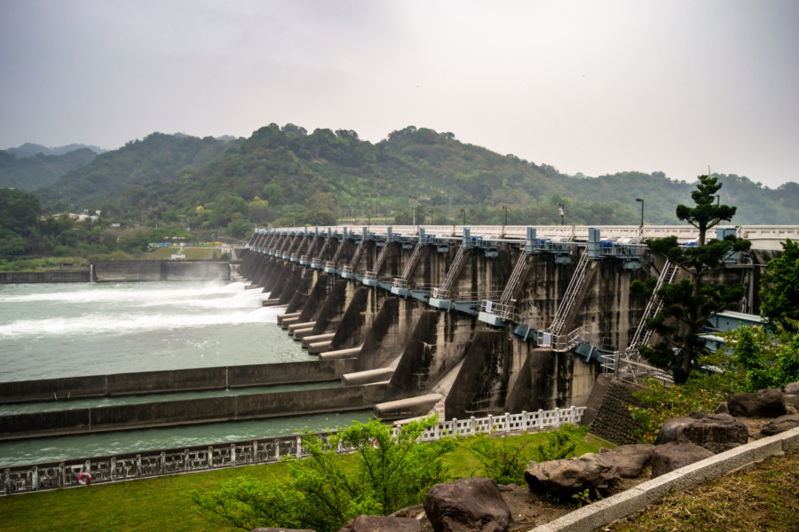 Misty Mountains and Shigang Dam 石岡壩