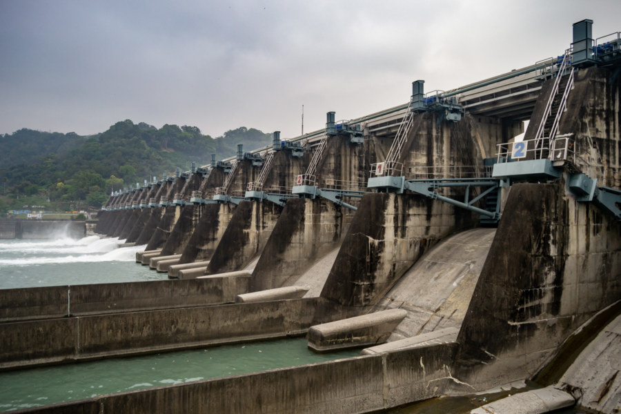 Shigang Dam 石岡壩